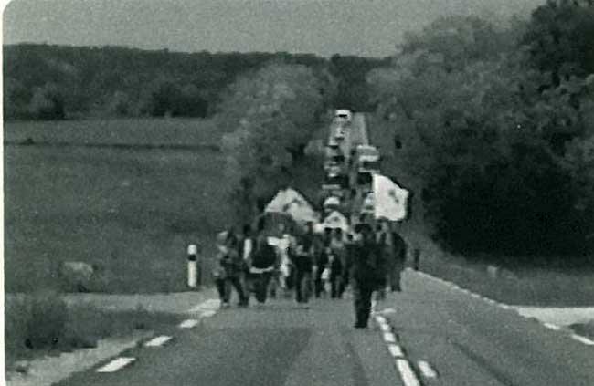 행진의 스틸사진