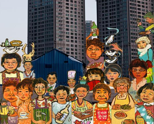 23X371일 - 용산 남일당 이야기 23×371days -The Story of Namildang in Yongsan의 스틸사진